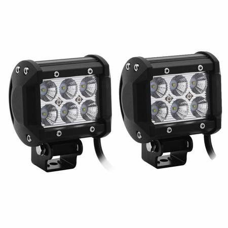 """Rzr Rack 20"""" 120W Xrx Off Road Led Driving Work Light Bar -3W Led Lumen Great For Jeep Cabin/Boat/Suv/Truck/Car/Atv"""