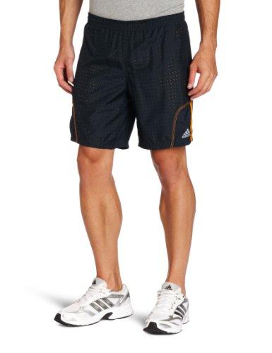 adidas adidas Men's response Dual Baggy Short, Tech Onix/Bright Gold, Large