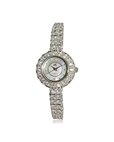 Adee Kaye Women's AK29-L Mother-of-Pearl, Crystal & Brass Watch