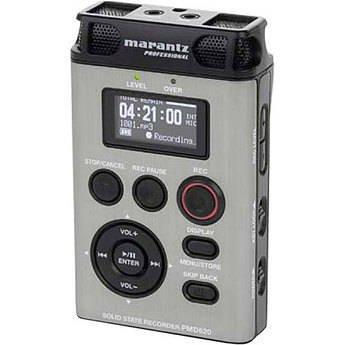 Marantz Pmd620 Handheld Sd Mp3/Wav Recorder