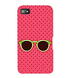 Ebby Premium Printed Mobile Back Case Cover With Full protection For Blackberry Z10 (Designer Case)