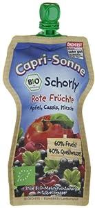 Capri Sonne Bio- Schorly Rote Früchte, 15er Pack (15 x 250 ml)