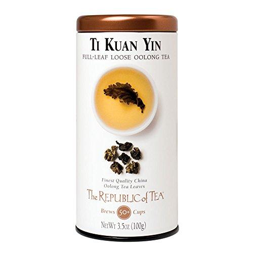 The Republic Of Tea Ti Kuan Yin Full-Leaf Tea, 3.5 Ounces / 50-60 Cups (Ti Carb compare prices)