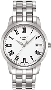 Tissot Men's T0334101101300 Dream White Dial Watch by Tissot