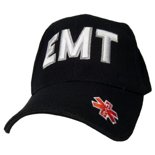 EMT EMS Paramedic Star of Life Logo Baseball Cap Hat Officially Licensed