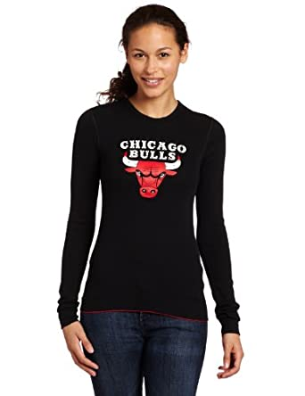 Majestic Threads Chicago Bulls Baby Thermal, Black by Majestic Threads