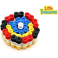 Innovative Chain Links Building Block 235 Pieces Toy Set For 3+ Aged Preschoolers