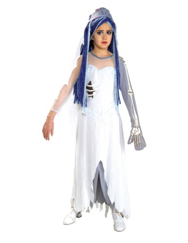 Child Corpse Bride Lg Kids Girls Costume