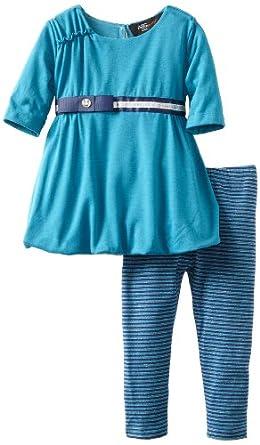 A.B.S. by Allen Schwartz Baby-Girls Infant Maryann Bubble Set, Turquoise, 12 Months