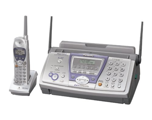 Panasonic KX-FPG381 Plain-Paper Fax and 2.4 GHz Cordless Phone Combo