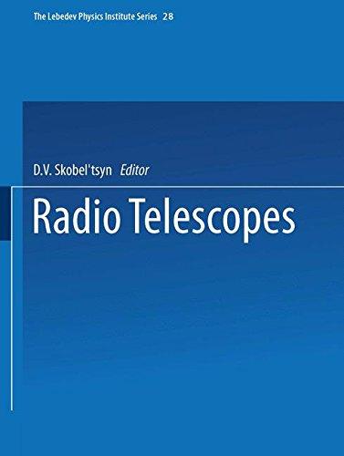 Radio Telescopes (The Lebedev Physics Institute Series)