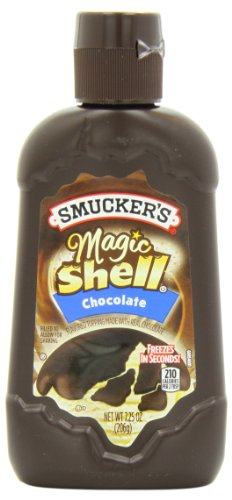 Smucker's Magic Shell Ice Cream Topping, Chocolate Flavor, 7.25-Ounce Bottles (Pack of 12) (Smuckers Ice Cream Topping compare prices)