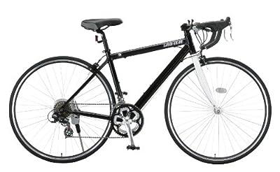 LAND GEAR(ランドギア) 700Cアルミ製シマノ14段変速ロードバイク ブラック LG-RD7014