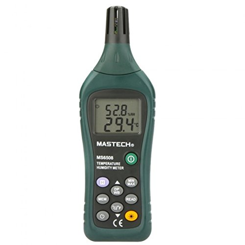 MASTECH MS6508 Thermo-hygrometer Digital Temperature Humidity Moisture Meter Tester Thermometer