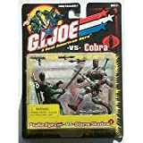 Snake Eyes vs. Storm Shadow - G.I. Joe vs Cobra Action Figure [Toy]
