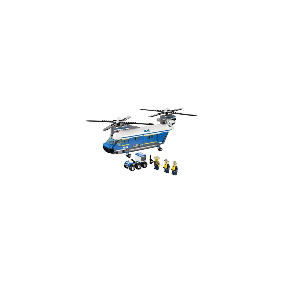 Lego City Heavy Lift Police Helicopter 4439 Toys  amp  GamesHelicopter Police Games