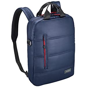 Targus Crave2 バックパック / メッセンジャーバッグ / 手提げバッグ 【13インチ MacBook MacBook Air 対応 軽量・保護力】 3in1 Midnight-Blue TSB772AP