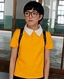 Doraemon ドラえもん どらえもん 野比のび太 コスプレ衣装 コスチューム のび太くん (男性L, 短袖)