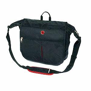 """Wenger® SwissGear 15"""" 15 Inch Laptop Notebook Computer Shoulder Messenger Black Travel Bag Carry Case by Wenger®"""
