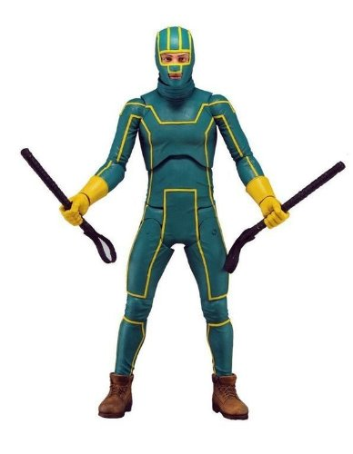 "Kick Ass 2 - Series 1 - Kick Ass 7 ""Action Figure"