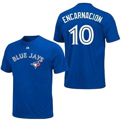 Edwin Encarnacion Toronto Blue Jays Youth Royal Player T-Shirt by Majestic Select Youth Size: X-Large - 18
