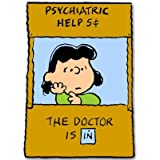 Lucy Doctor is In Peanuts snoopy Vynil Car Sticker Decal - Select Size