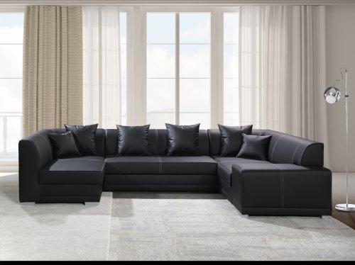Couchgarnitur Ecksofa Eckcouch Sofagarnitur VENICE BIS, Wohnlandschaft Big Sofa auf Wellenfederung NEU, bestes Preisleistungsverhälltnis, Kostenloser Stoffmusterversand gegen Rücksendung, in diversen Stoffen und Farben ohne Aufpreis erhältlich, Lieferzeit 5-10 Werktage.