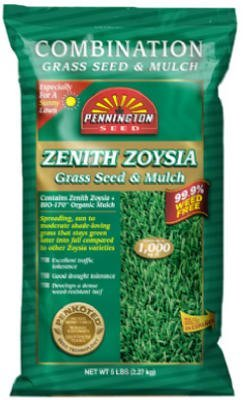 Pennington Seed Inc 5Lb Zenith Zoysia Seed 199988 Grass SeedB001D1X4T4 : image
