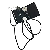 Home Blood Pressure Kit with Attached Stethoscope