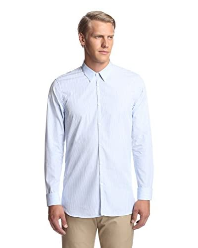 Calvin Klein Collection Men's Slim Fit Stripe Shirt