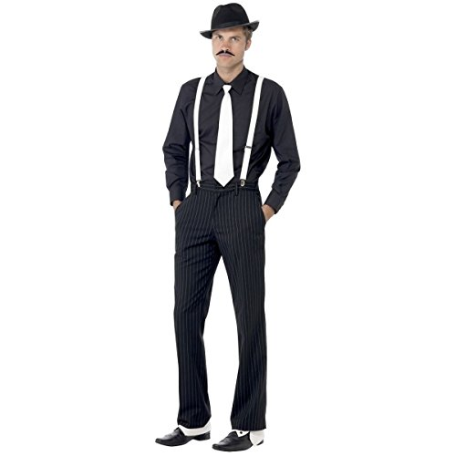 [GSG Instant Gangster Kit Costume Accessory Kit Adult Mens Halloween] (Cabaret Costumes For Men)
