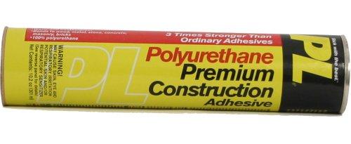Henkel 828471 PL Premium Polyurethane Construction Adhesive, 10.2-Ounce