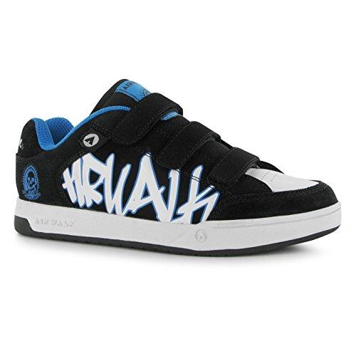 airwalk-baskets-mode-pour-garcon-multicolore-noir-blanc-bleu-taille-unique-multicolore-33-cm