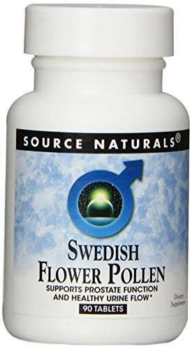 Source Naturals Swedish Flower Pollen, 90 Tablets (Standardized Pollen Extract compare prices)