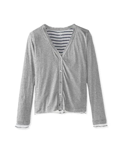 Majestic Women's Cardigan with Contrast Lining
