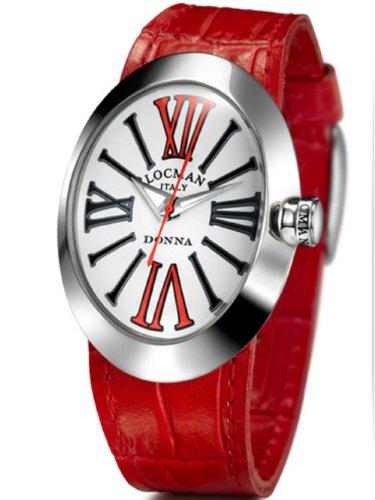 Locman Women's Quartz Watch 041000WHRDBKPSR-W-K with Leather Strap