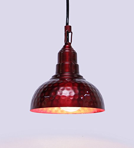 Height of Designs Height Of Designs Red Pendant lamp