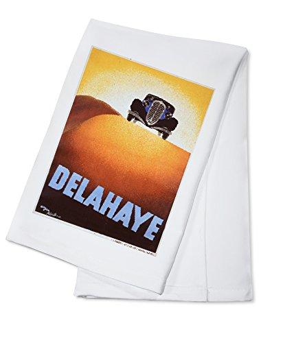 delahaye-vintage-poster-artist-perot-france-c-1935-100-cotton-absorbent-kitchen-towel
