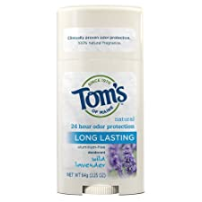 TOM'S OF MAINE, Deodorant Stick Long Lasting Lavender - 2.25 oz