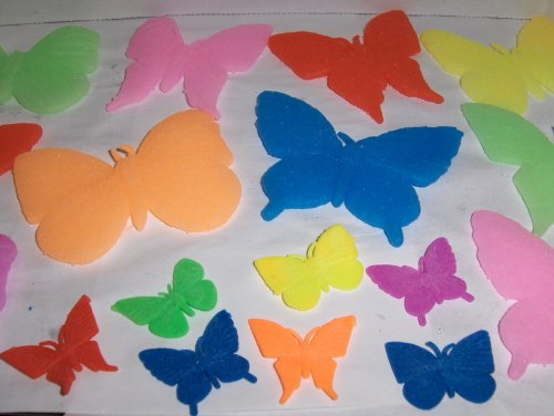Magic growing Jelly BeadZ® ButterflyZ fun and educational - 10 Assorted ButterflyZ - 1