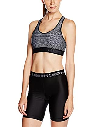 Under Armour Top Mid Bra Printed (Gris)