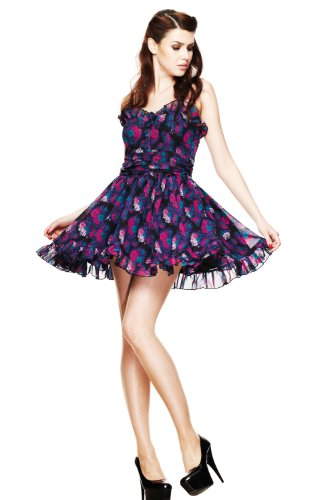 Hell Bunny Margot Mini Dress L - Size 14