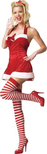 Santas Little Helper Sexy Christmas Costume Dress Size Small / Medium