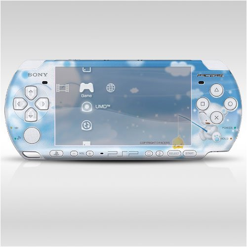 Pacers Decorative Protector Skin Decal Sticker For Psp-3000 Item No. 0859-19
