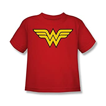 Wonder Woman Logo Toddler/Juvenile T-Shirt, Juvy Large (7)