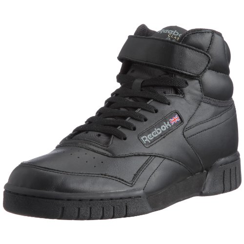 Reebok - Ex-O-Fit Hi, Sneakers unisex, Nero (Black), 44.5 EU
