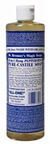 Organic Castile Liquid Soap Peppermin…