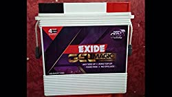 Exide Inverter UPS Battery IT 500 GEL 150 AH - Just fit it and forget - No Maintenances & topping