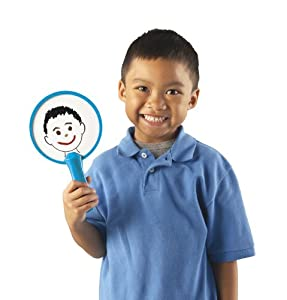 Learning Resources All About Me Mirror Boards - Espejos de doble cara para mirar y dibujar en BebeHogar.com