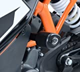 R G Aero no cut Frame Sliders  KTM RC125 200 390